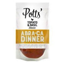 Potts Tomato And Basil Sauce 400g