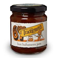 Tracklements Hot Habanero Jam 250g