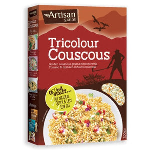 Artisan Grains Tricolour Couscous 200g