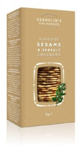 Verduijns Savoury Sesame & Sea Salt Crackers 85g