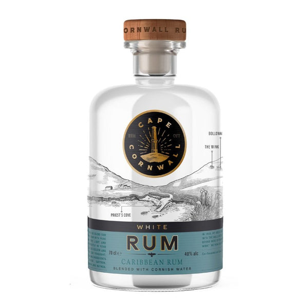 Cape Cornwall White Rum 70CL