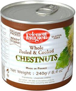 Clement Faugier Whole Chestnuts  240g