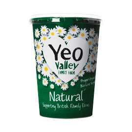 Yeo Valley Natural Yoghurt 500g