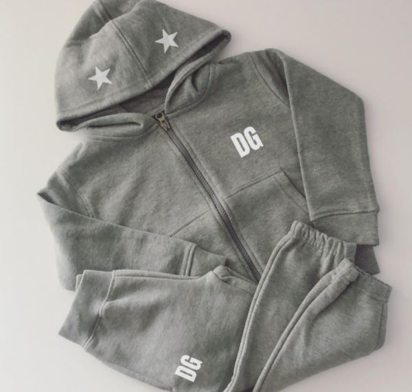 Grey Star Hooded Tracksuit