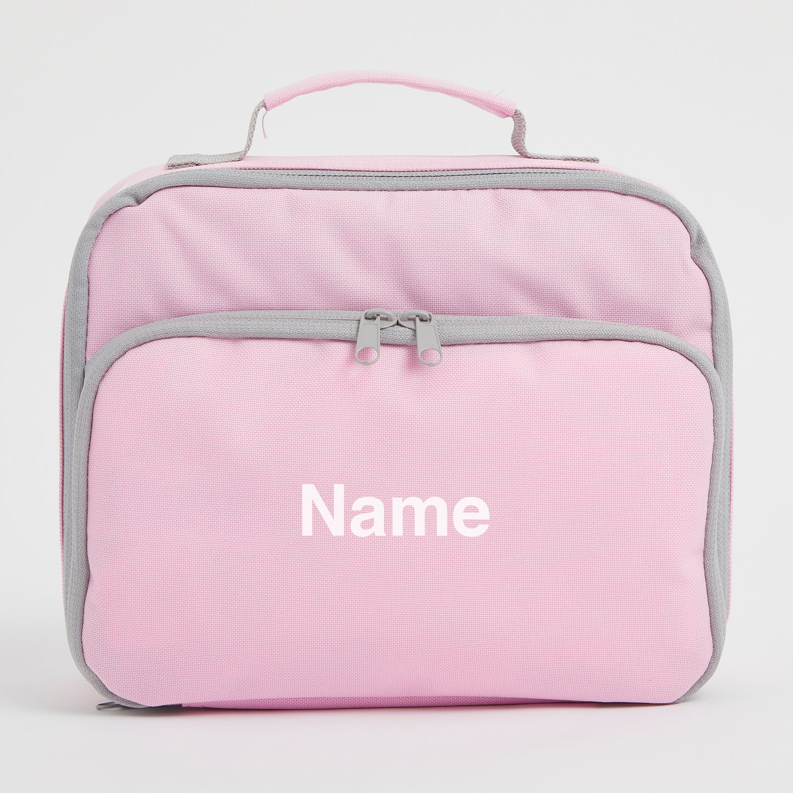 Personalised Baby Pink Lunch Bag