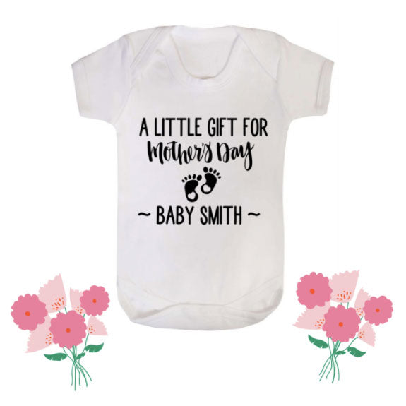 Mothers Day Announcement Bodysuit