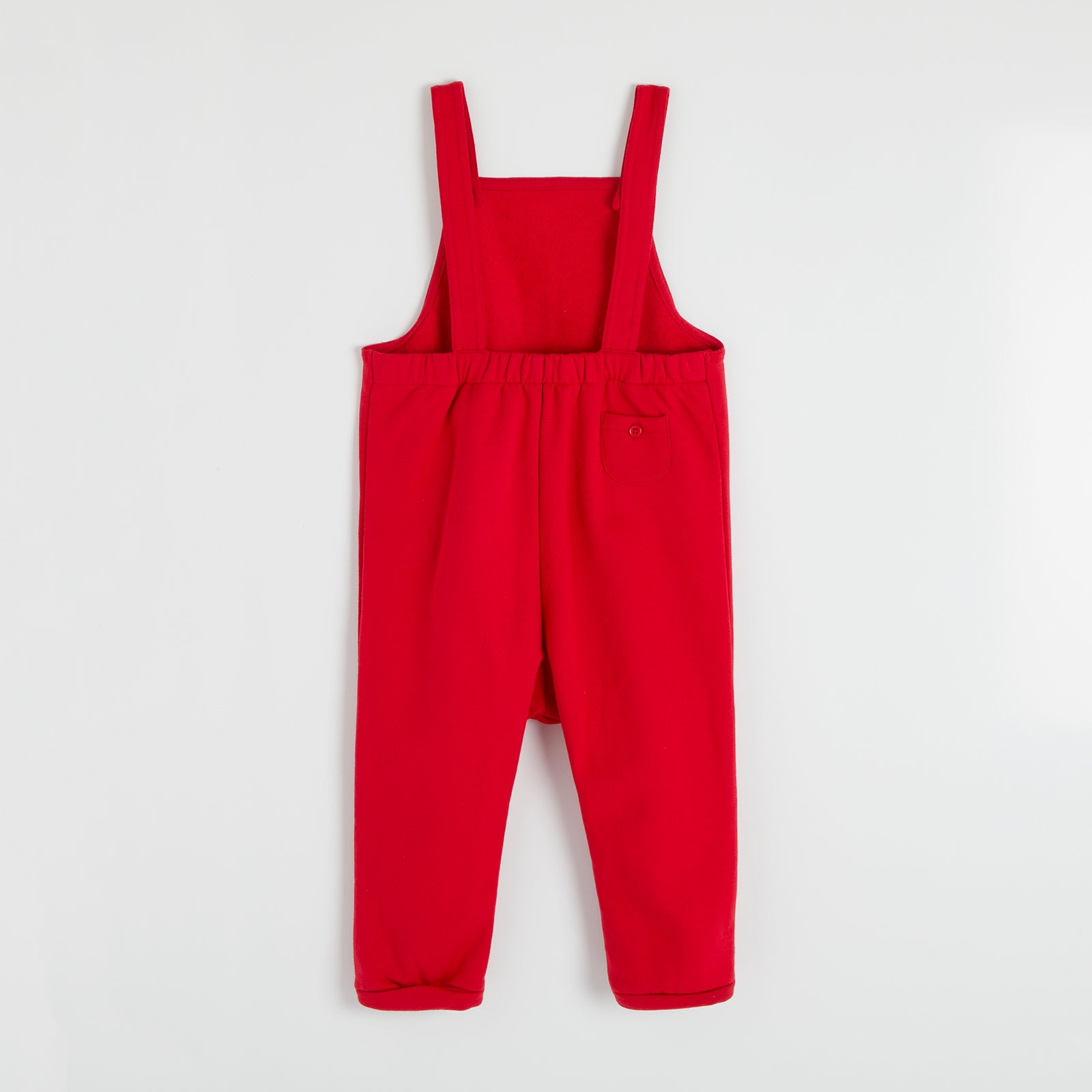 Personalised Red Dungarees