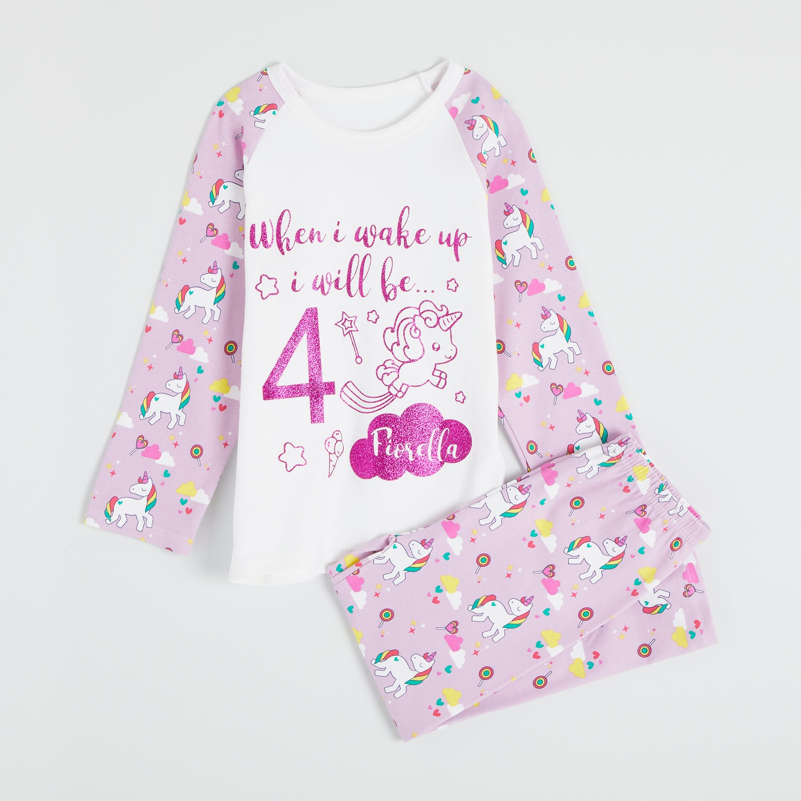 Unicorn Birthday Pyjamas