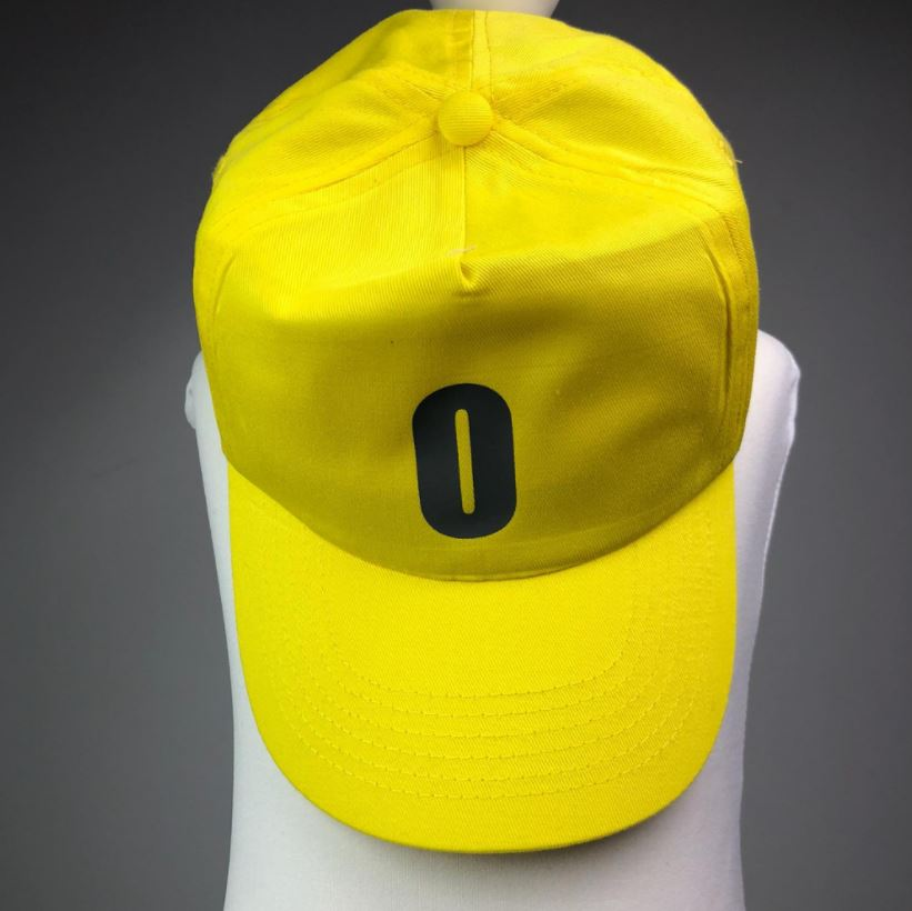 Personalised Yellow Cap