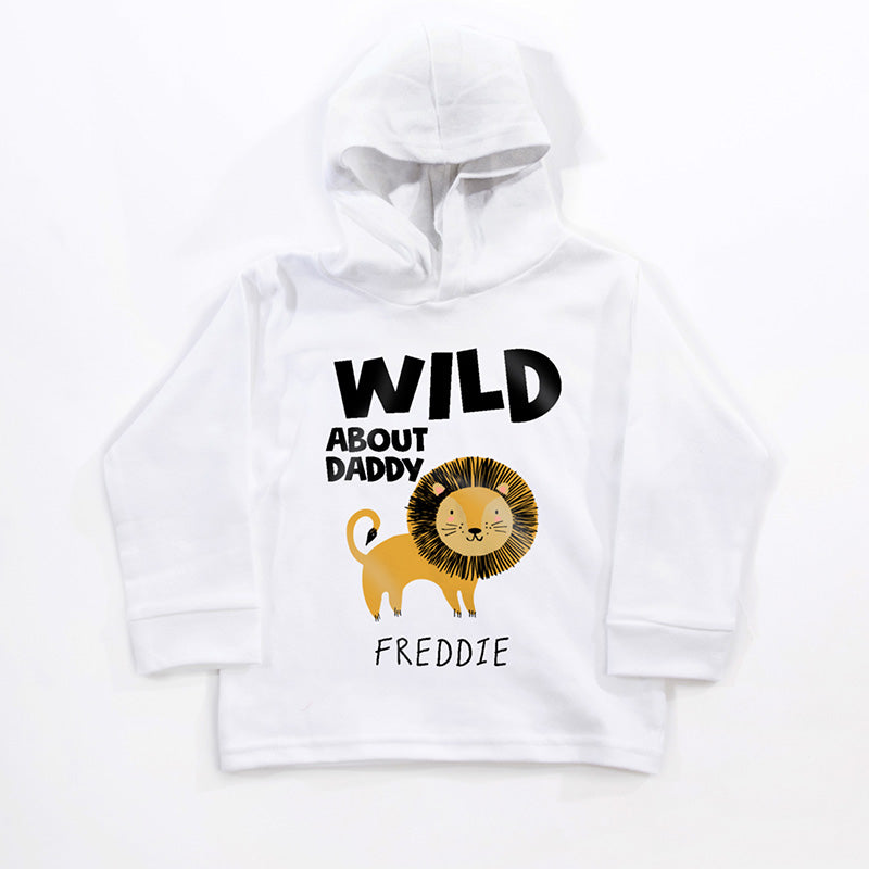 Personalised Wild About You Hoodie