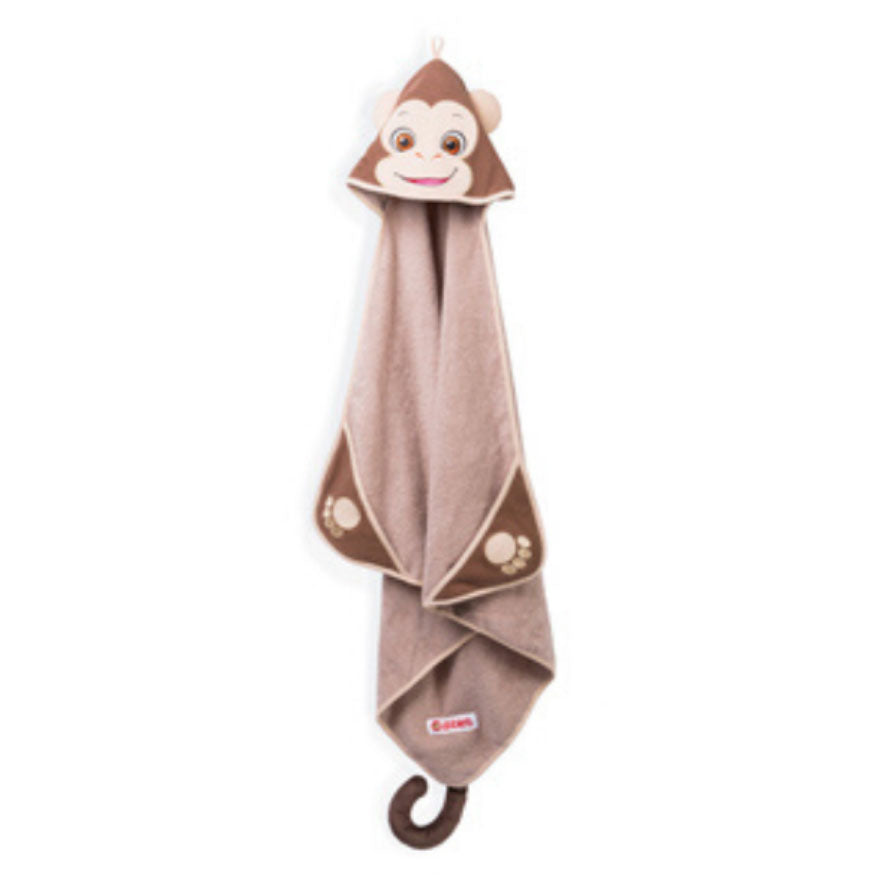 Bugaloo The Monkey Embroidered Towel