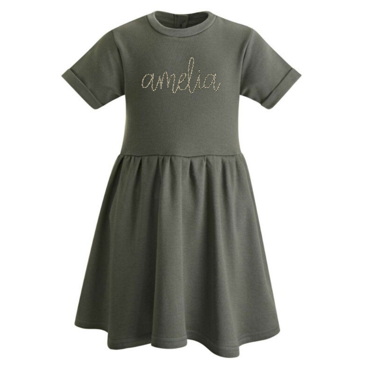 Personalised Khaki Dress