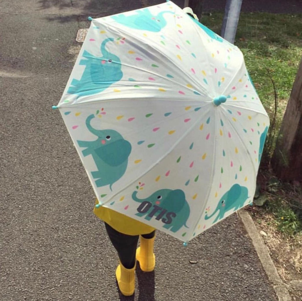 Personalised Elephant Umbrella