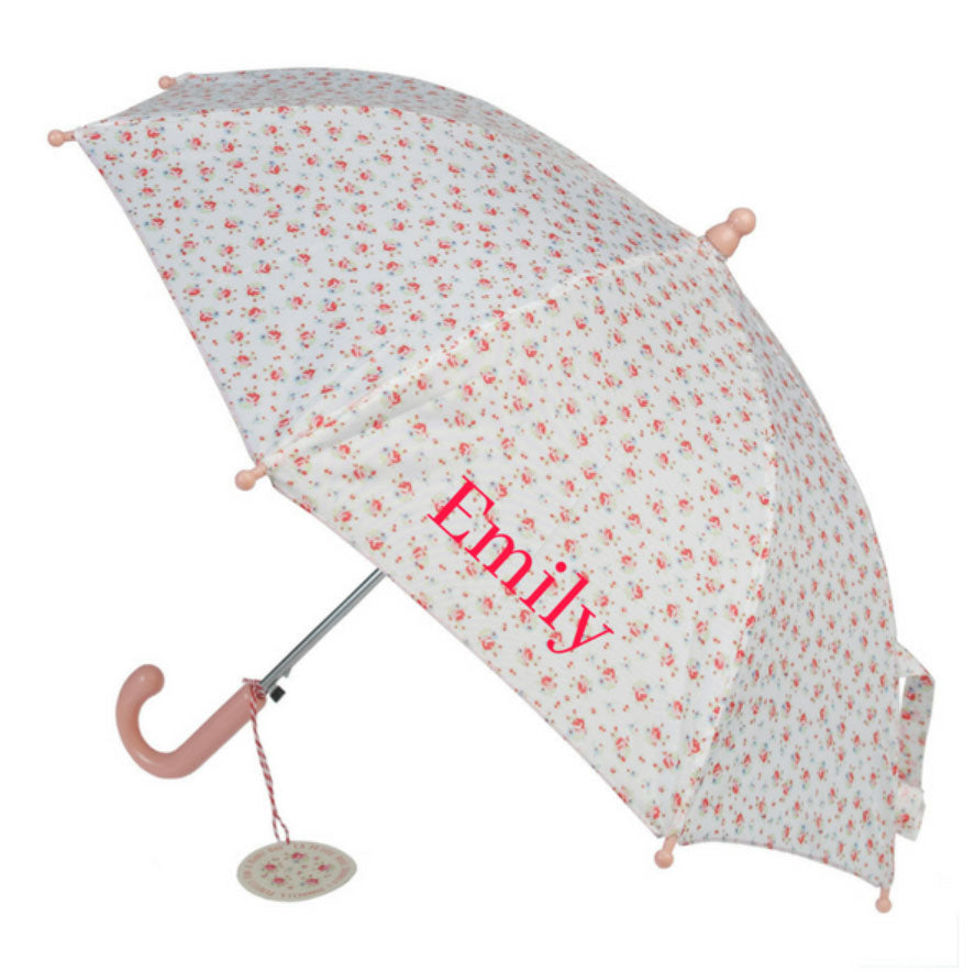 Personalised Rose Umbrella