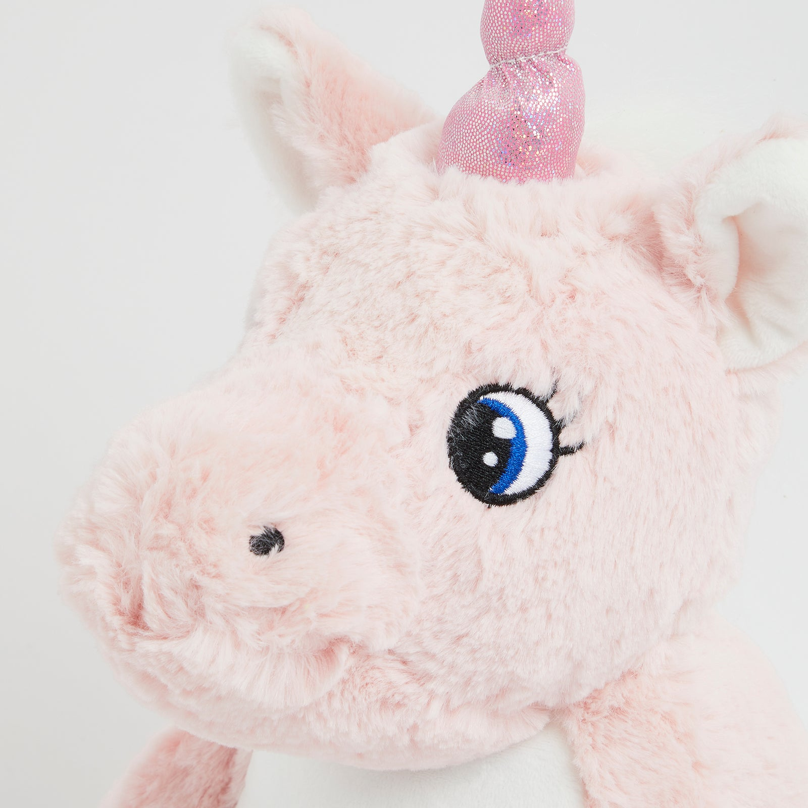 Personalised Pink Unicorn Soft Toy