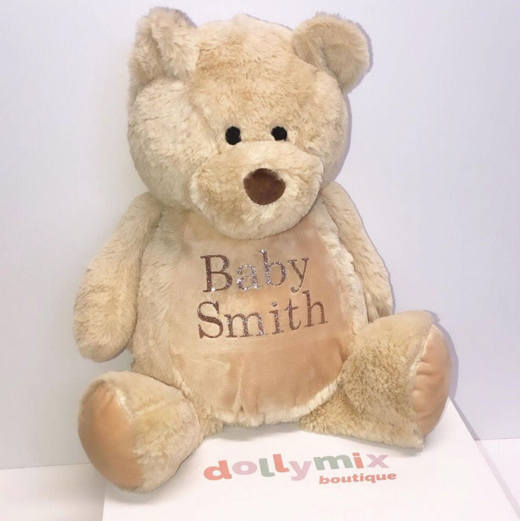 Personalised Teddy Soft Toy