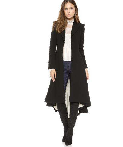 Swallowtail Long Coat