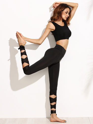 Yoga & Fitness bandage leggings