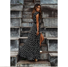 Load image into Gallery viewer, Dolores Polka Maxi Dress