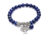 Load image into Gallery viewer, Yoga-Supreme™ Blue Tree of Life Bracelet