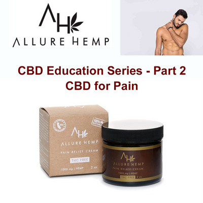 CBD Education Series - CBD and Pain Management