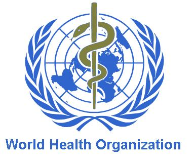 CBD Relieves the pain of Chronic Inflammation WORLD HEALTH ORGANISATION LOGO.