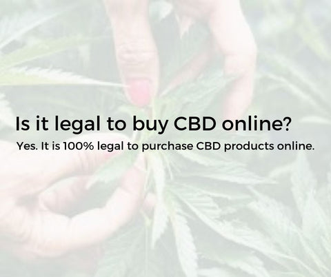 is it legal to buy cbd online