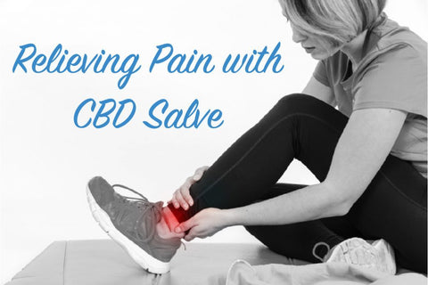 relieving pain with cbd salve