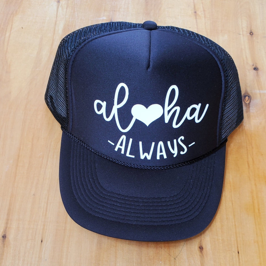 Aloha Always Adult Trucker Hat