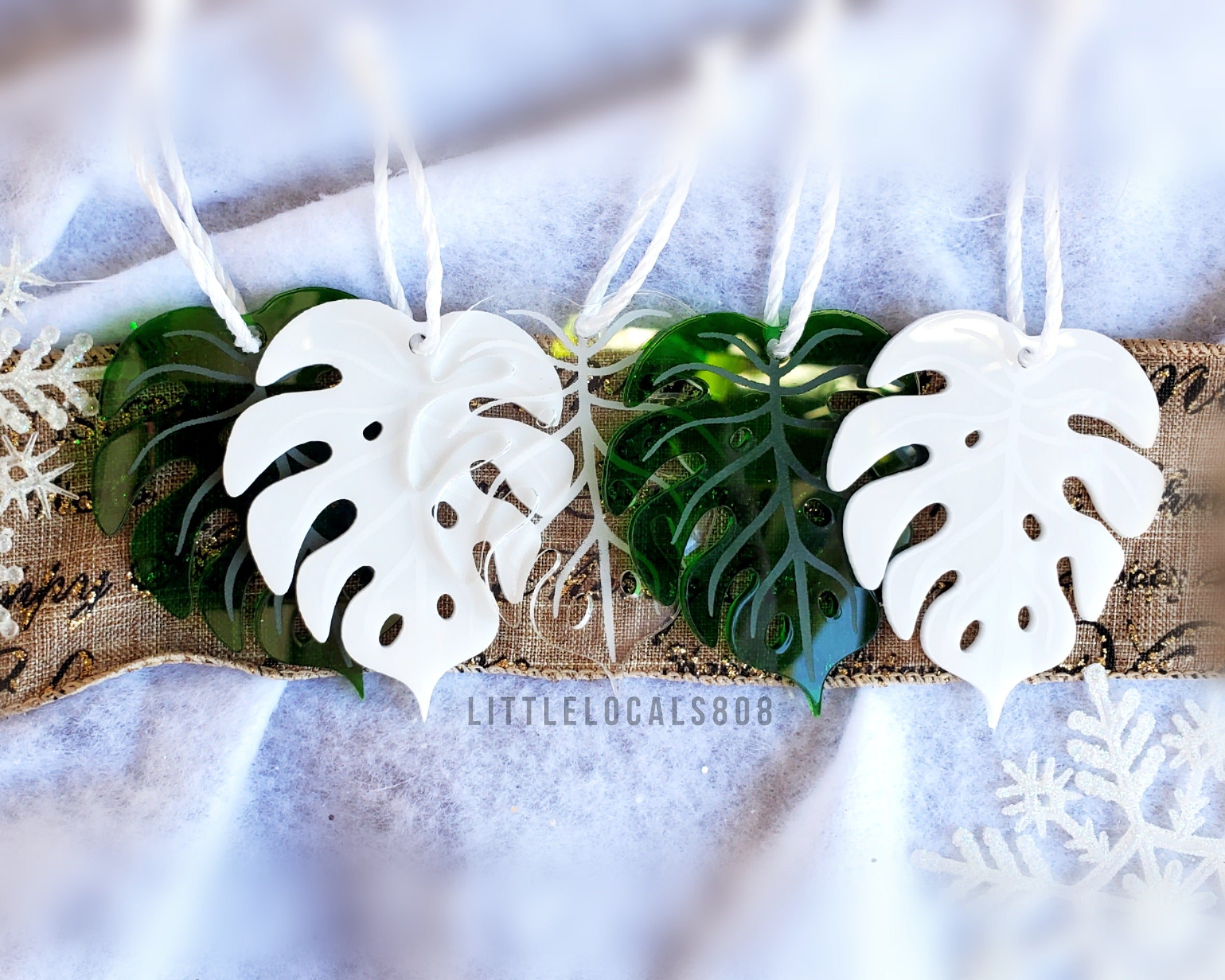 Ornaments / Monstera Set