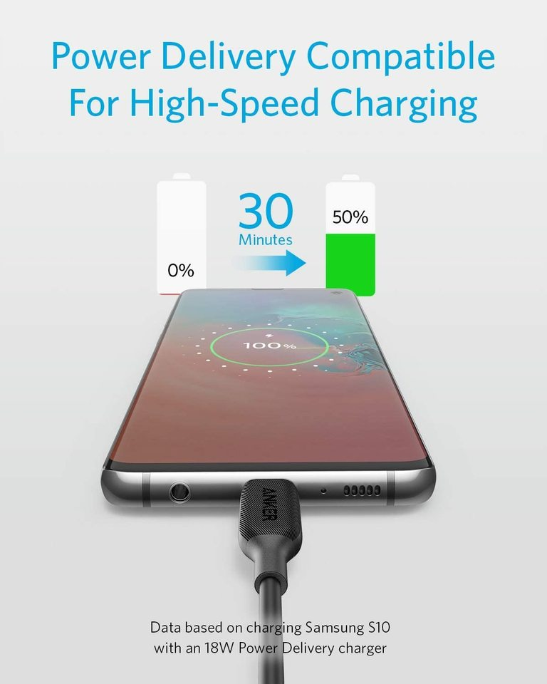 PowerLine III USB C to USB C kábel