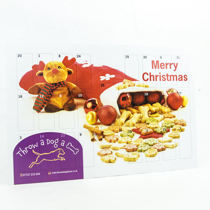 Christmas Homemade Dog Advent Calendar