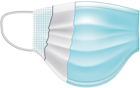 3 Layers Surgical Disposable Mask