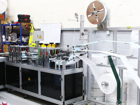 disposable face mask machine to manufacture
