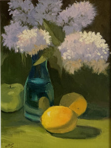 Large Still Life - Lilacs in the Sun