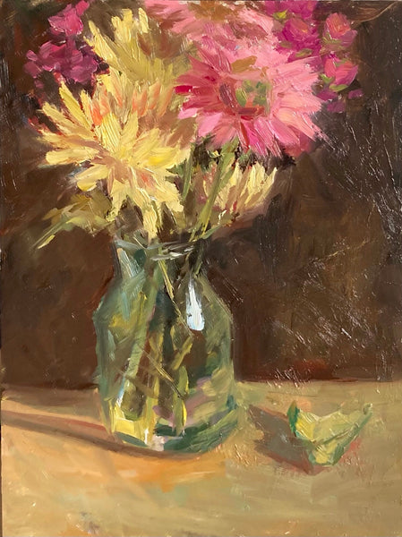Stilllife Painting - Afternoon flowers
