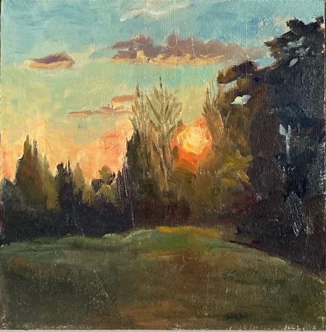 Landscape Painting - Golden Hour