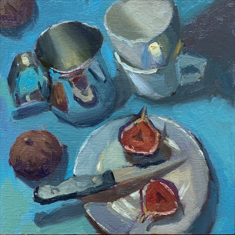 Figs on Blue