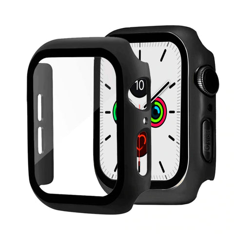 Carcasa con Vidrio Templado para Apple Watch - Geeking Store
