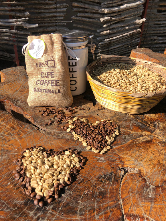 Organic Strictly High Grown (SHG) coffee beans
