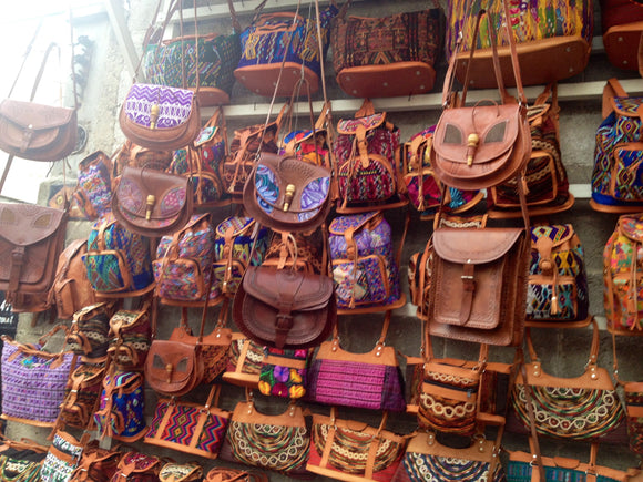 Real Leather Guatemala Bags