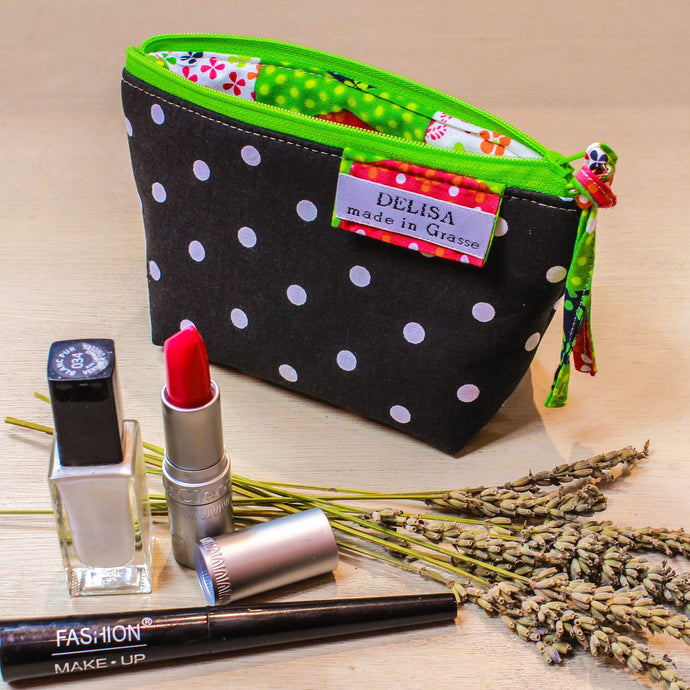 Make up bag, Cosmetic bag, zip up pouch, Coin purse, lavender bag, Tampon pouch, makeup bag, small purse, lipstick holder, Small makeup bag