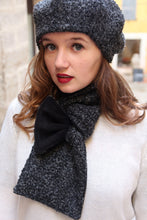 Load image into Gallery viewer, Trendy scarf set, Wool scarf and hat,