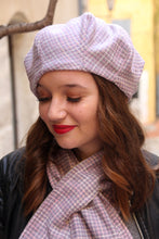 Load image into Gallery viewer, French beret. Unique wool beret handmade in France.