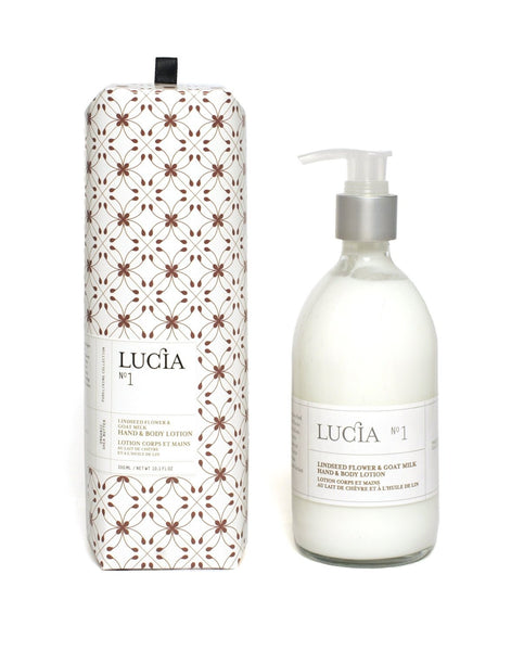 Lucia No. 1 Lindseed Flower and Goat milk Hand and Body Lotion