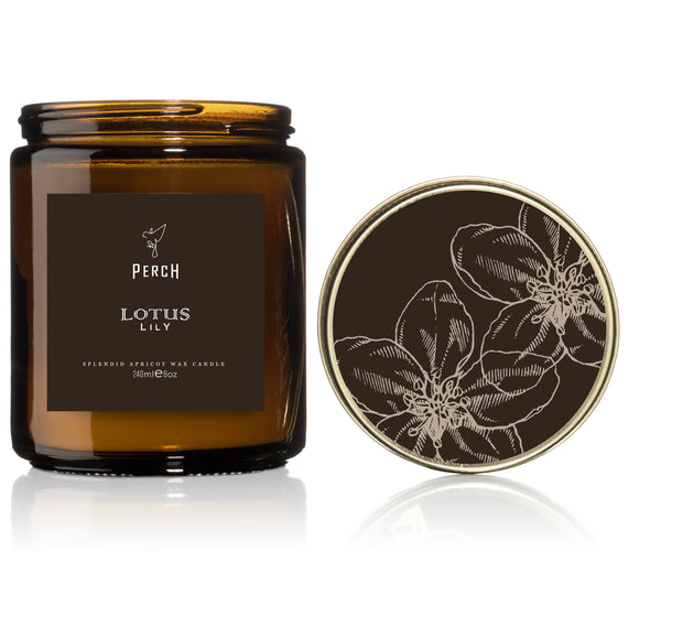 Lotus Lily Classic Amber
