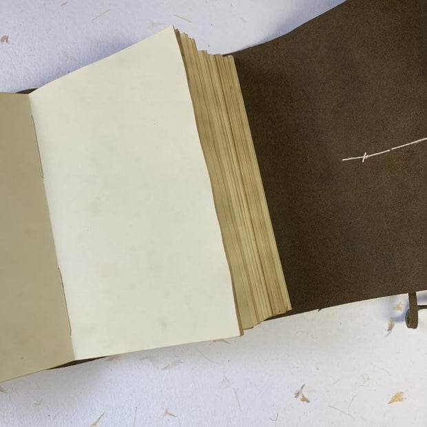Handmade Leather Stitched Journal