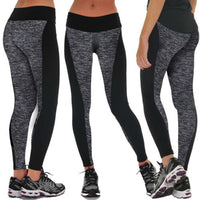 Women Causal Sports Leggings Running Yoga Gym Compression Fitness Workout Leggings High Waist Pants Athletic Apparel