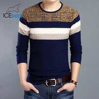 ICEbear 2019 New Fall Men's Sweater Fashion Casual Men's Pullover Brand Apparel 1716
