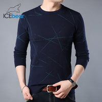 ICEbear 2019 New Men's Sweater High Quality Male Apparel Autumn Men's Brand Clothing 1821